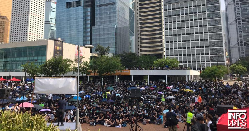 Exclusive: Hong Kong Protesters Condemn Extradition Bill, Tyranny from Communist China