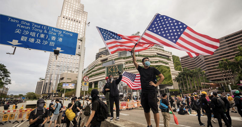 Infowars On The Ground In Hong Kong To Cover Anti-ChiCom Protests