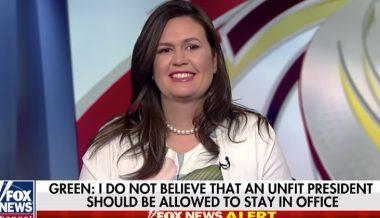 Sarah Huckabee Sanders Hired as Fox News Contributor