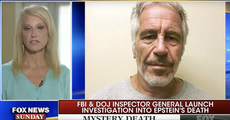 Kellyanne Conway: Trump Retweeted Epstein-Clinton Conspiracy Because He 'Wants Everything To Be Investigated'