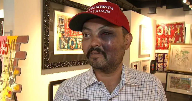 NYC Art Gallery Owner Attacked Over MAGA Hat