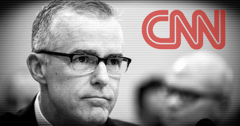 Fake News CNN Hires Confirmed FBI Liar McCabe As Contributor