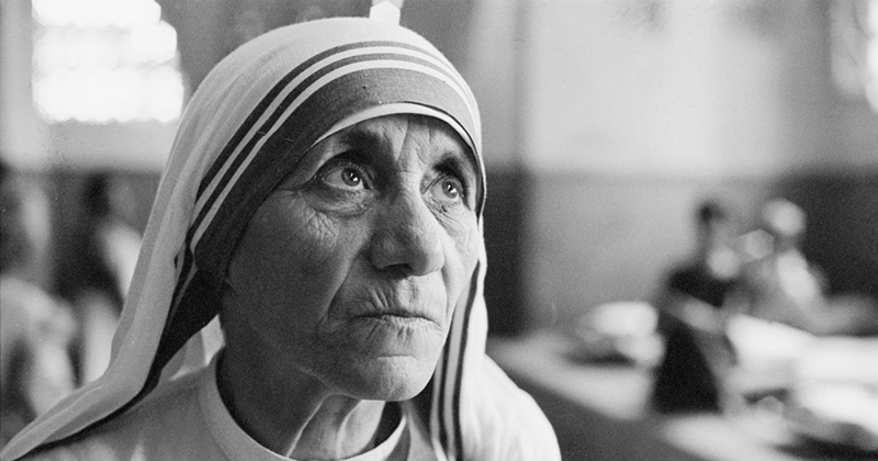 Mother Teresa: If a Mother Can Kill Her Own Child, How Can We Tell Other People Not to Kill?