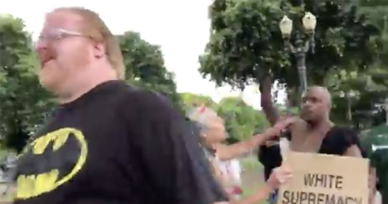 Antifa Attacks Journalists At Portland 'End Domestic Terrorism' Protest