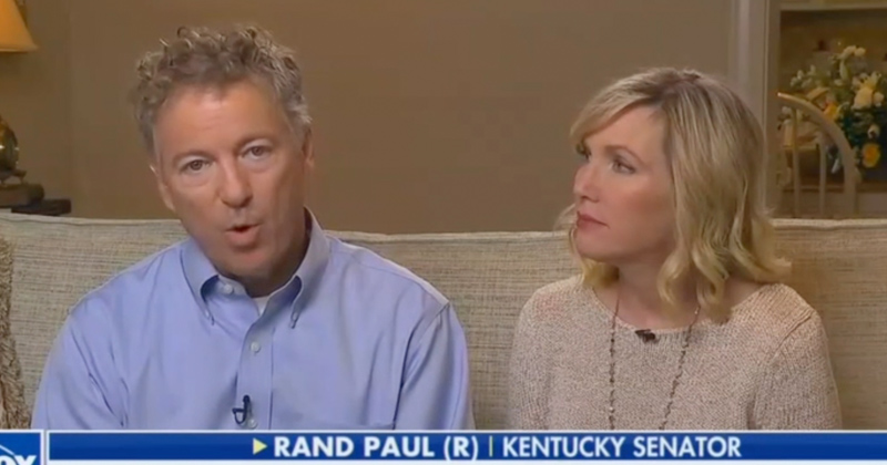Rand Paul: 'Left Wing Mob Wishes I Was Dead'