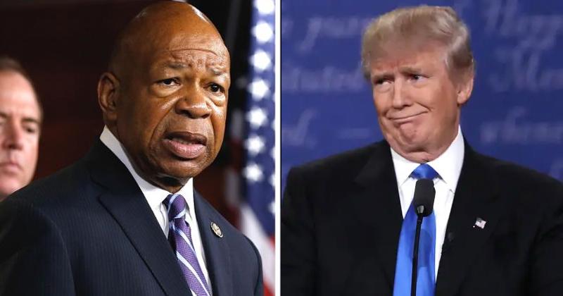 'Too Bad!': Trump Mocks Elijah Cummings After Rep's Baltimore Home Robbed