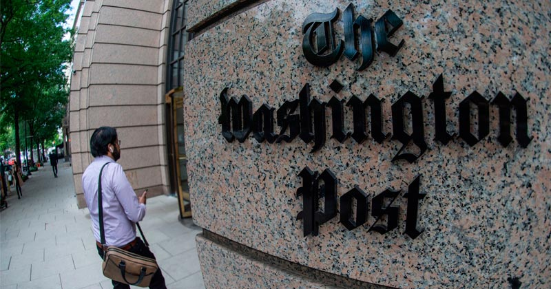 Read the White House's Exposé of the Washington Post