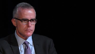 DOJ: Andrew McCabe Will Not Face Criminal Charges