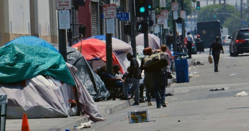 Trump Orders Fightback Against LA's Worsening Homeless Problem