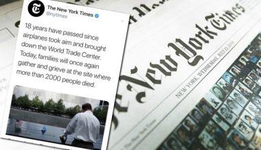New York Times Blames