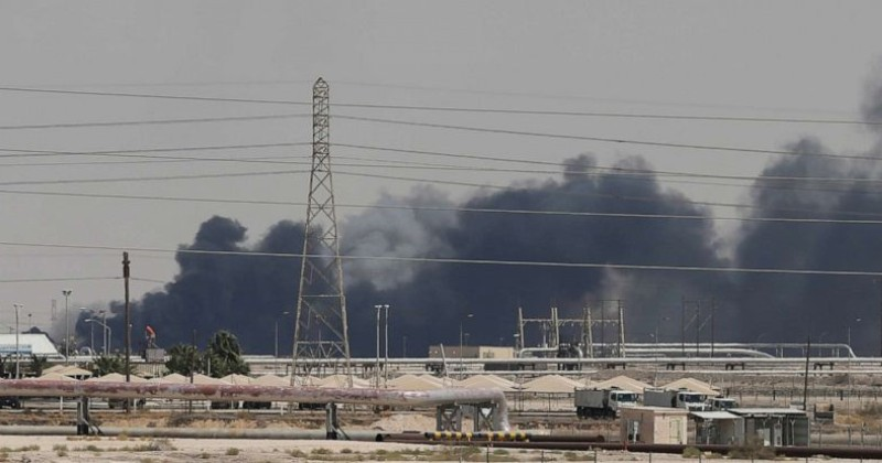 Drone Strikes in Saudi Arabia Wipe Out 5% of Global Oil Supply