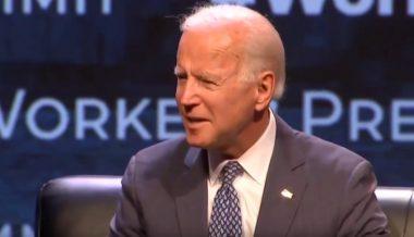 Joe Biden Mocks Reporter for Asking About Son's Love Child: 'Classy'