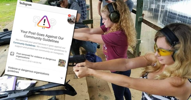 Instagram is Now Banning Photos of People at Gun Ranges, Claiming They Promote 'Violence'