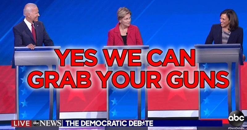 Gun-Grabbers Unite! BETO, Biden, Kamala and Klobuchar All Pledge To Go After Your 2nd Amendment