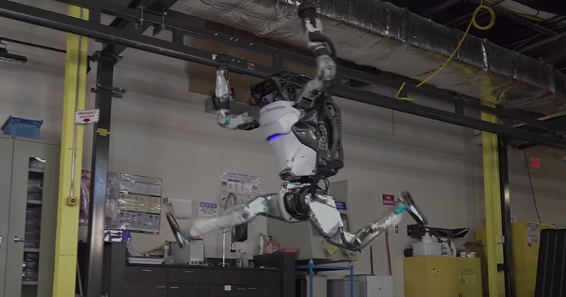 Whoa! Boston Dynamics Unveils Gymnast Robot