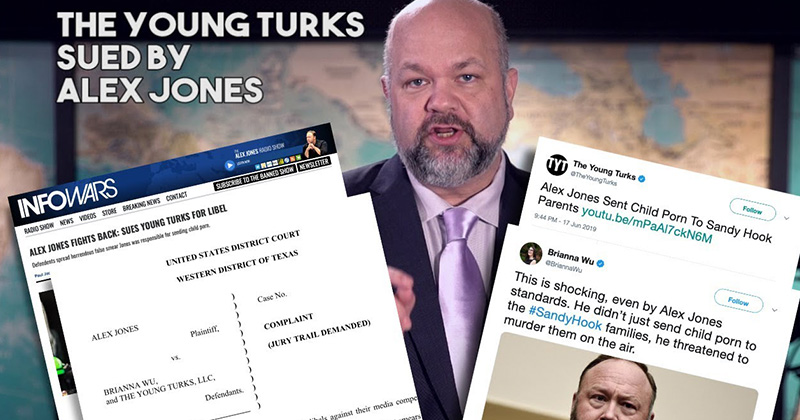 Alex Jones Sues Young Turks: Official Statement