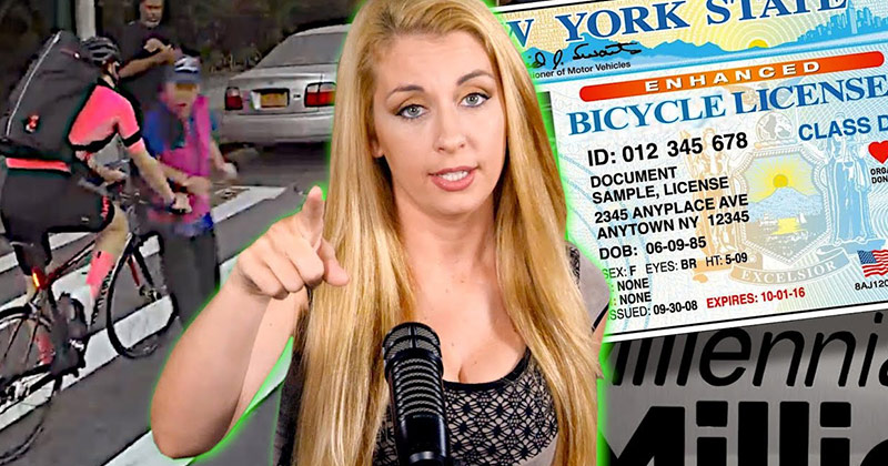 Seriously? Bicycle Licenses Are Coming