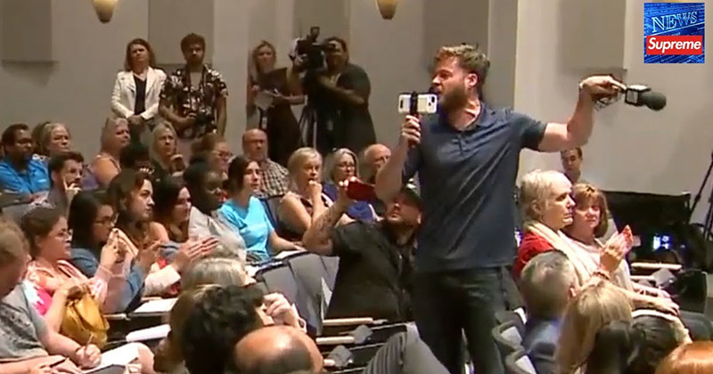 Infowars' Owen Shroyer Kicked Out Of City Council Meeting