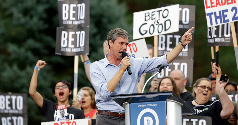 Beto Promotes Gun Confiscation at Kent State - Where Government Shot & Killed Unarmed Students
