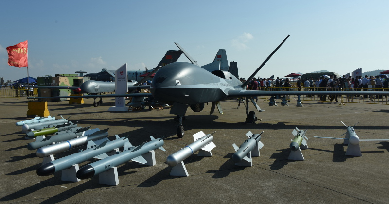 Chinese Combat Drones Sold in Europe - Report