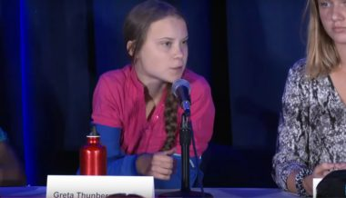 Greta Thunberg Calls US 'Biggest Carbon Polluter in History'