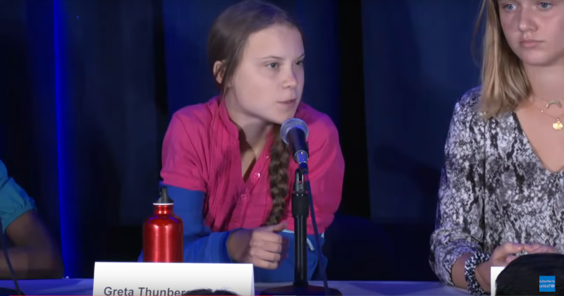 Greta Thunberg Calls US 'Biggest Carbon Polluter in History'
