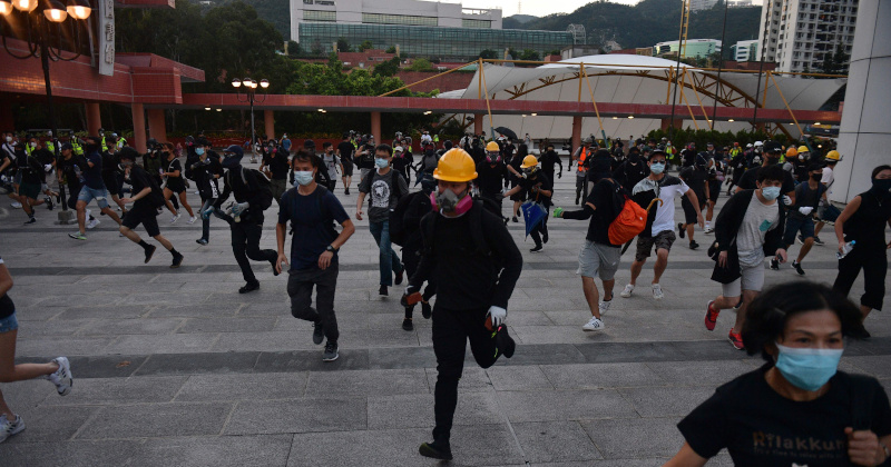 China Fumes After US lawmakers Approve Hong Kong 'Human Rights Act'