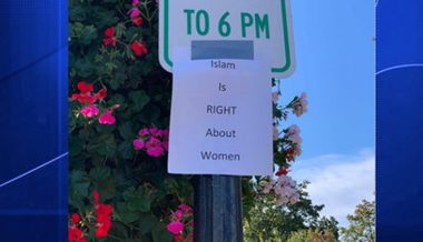 """Islam is Right About Women"" Signs 'Spark Confusion' in Liberal Massachusetts Town"