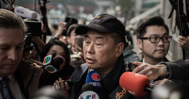 Masked Men Firebomb Home of Hong Kong Media Tycoon