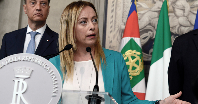 Hungary PM Meets With Italian Nationalists to Discuss Borders, Identity