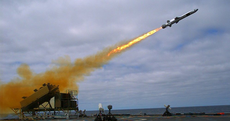 Navy Deploys Frigate With New Anti-Ship Missile
