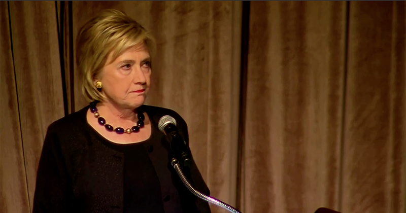 Video: Hillary Clinton STILL COMPLAINING About Losing To Trump