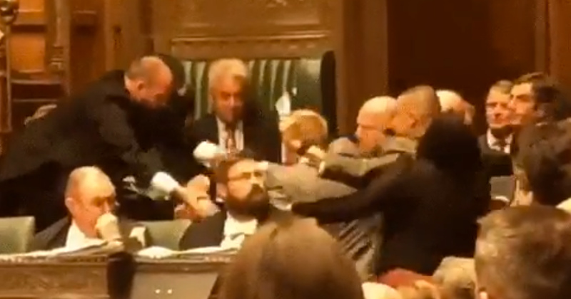 Scuffles Break Out as Leftist MPs Try to Stop Suspension of UK Parliament