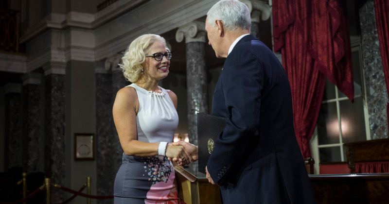 Arizona Dems May Censure Sen. Sinema For Pro-Trump Votes