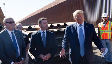 Trump Says Border Wall So Hot 'You Can Fry an Egg On It'
