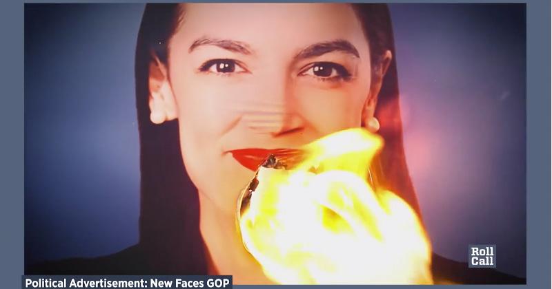 AOC Labels GOP Ad Slamming Socialism 'Racist'
