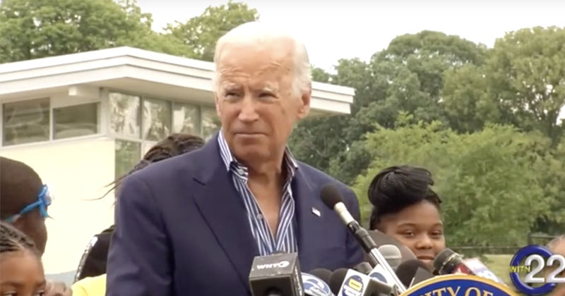 Biden Claims Gang Leader Named 'Corn Pop' Threatened Him With Straight Razor in 1960s