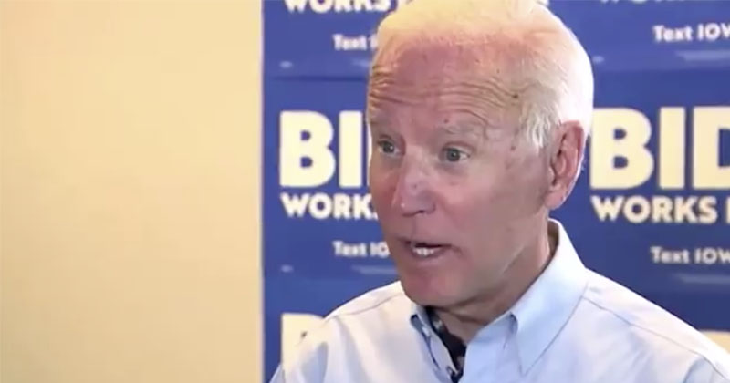 Bumbling Biden Stumbles Through Awkward Interview On Trump's Economy