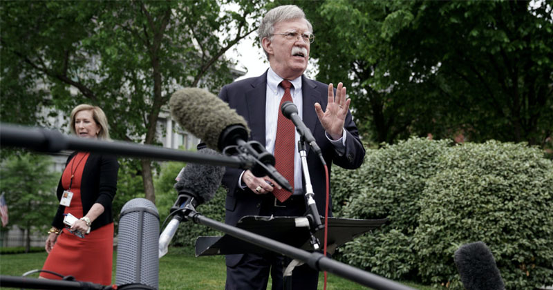 Establishment Defends Its Own: MSM Rages Over Bolton Departure