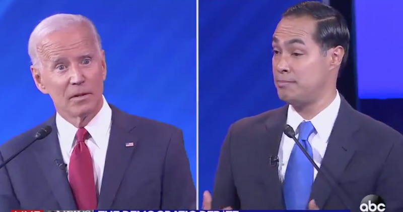 Video: Julian Castro Accuses Joe Biden of Dementia