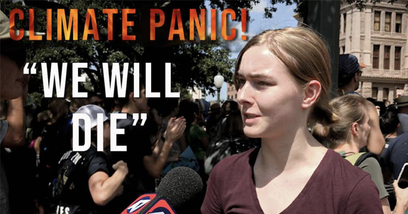 Video: Climate Activists Say We Only Have Seven Years to Live!