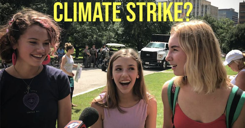 Students Admit Climate Change Indoctrination At Schools
