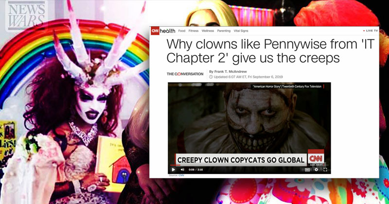 CNN Asks Why Don't People Like Clowns As Drag Queen Story Time Receives Nationwide Pushback