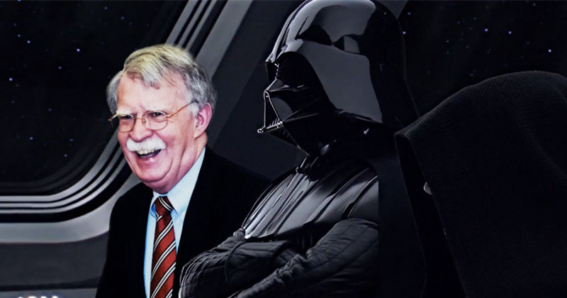 Internet Orders Tactical Meme Strike Against John Bolton Over Abrupt Firing