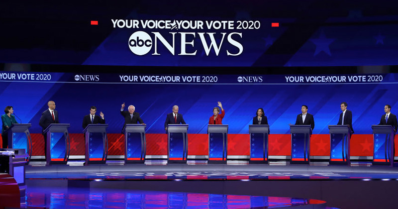 Watch Live: Democrats Call for Communist Revolution and Civil War During Third Presidential Debate