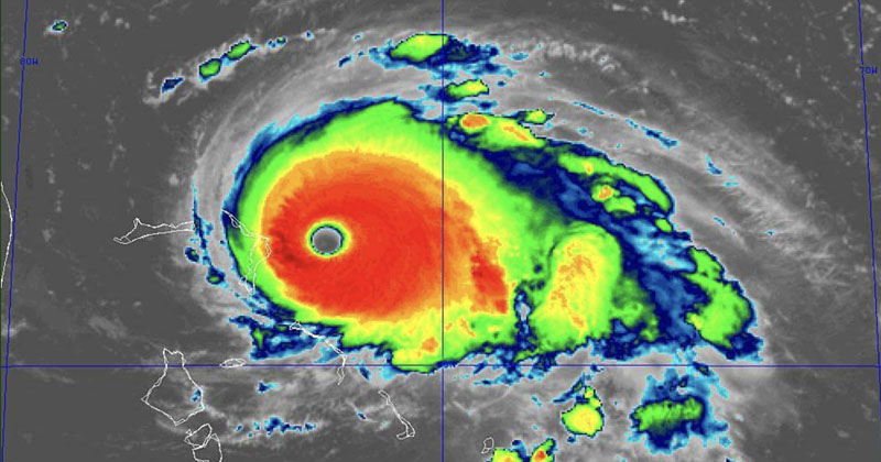 "Hurricane Dorian Reaches ""Catastrophic"" Category 5"