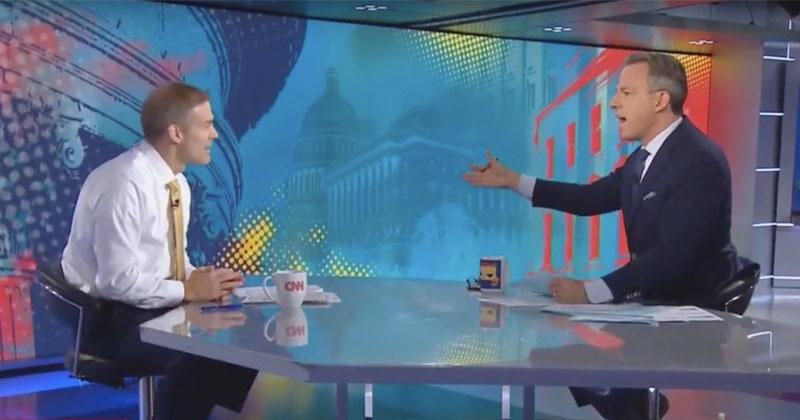 Fake News Jake Tapper Accuses Jim Jordan of Spreading 'Wild Allegations' Against Hunter Biden