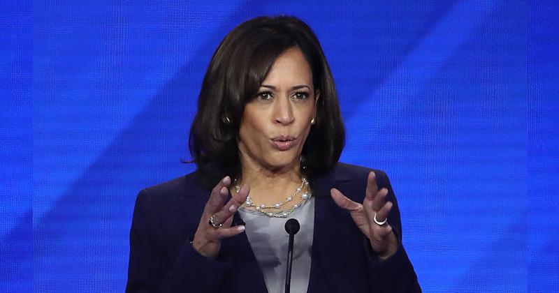 Dem. Debate Viewers Claim Kamala Harris Drunk