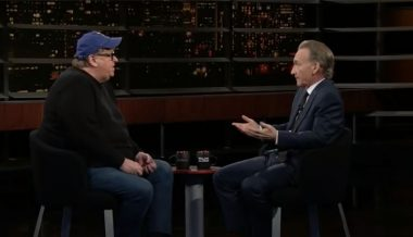 INFIGHT: Bill Maher Shuts Down Michael Moore Pushing Far-Left Policies For 2020