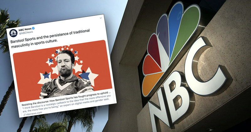 NBC Roasted After Smearing Sports Blog As 'Conservative' Haven for Toxic Masculinity